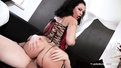 LaSublimeXXX Italian MILF Asia Morante needs to surrounding heavy cock concerning ass