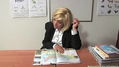 Russian mature cram 9 - Kayla (break)