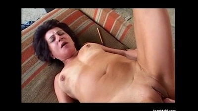 Granny Alfresco Anal Intercourse