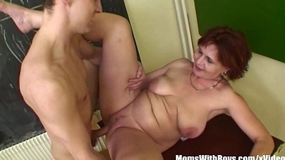Mature Biology Teacher In Obstruct Sex Punishment
