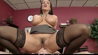 Office assistant shows her boss her plasticity 23