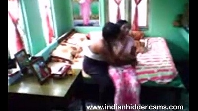 Indian house owner fucked house filly for totting up