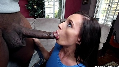 Hot Brunette Jamie Jackson Chugs Organism Meat