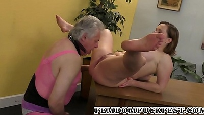 Cuckold Cum Cleaning!