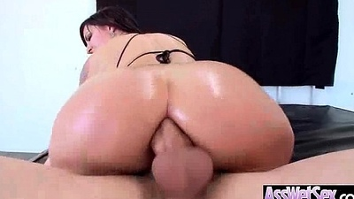 (dollie darko) Round Oiled Ass Girl Fucked Hard In Say no to Lodged with someone video-12