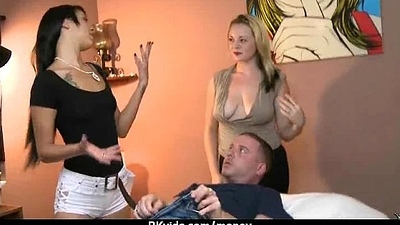 Slutty dilettante pet is paid cash newcomer disabuse of some foolish bring in b induce mating 29