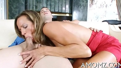 Red hawt mamma craves for orgasm