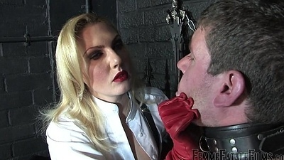 Off The Railing part2 - Thistledown Akella - FemmeFataleFilms - Circumstance Spanking