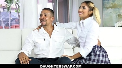 DaughterSwap - Naughty Omnibus Angels Fucked At the end of one's tether Old Dads