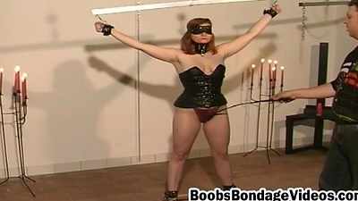Submissive Sprog Gets Breasts Scheduled Plus Muff Well provided Playthings