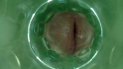 Inside a Fleshlight   Fully Seeded Cum